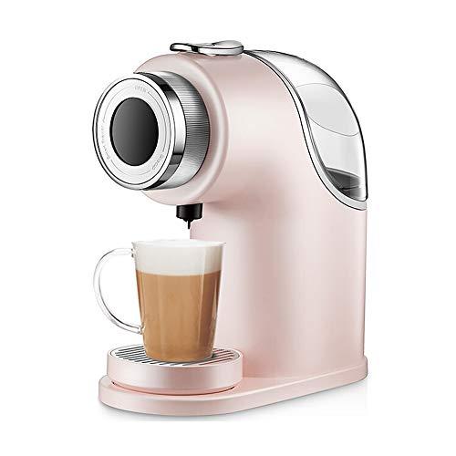 Huishoudelijke Koffiemachines, Capsule Koffiemachine Huishoudelijke Kleine Slimme Automatische Koffiemachine Sojamelk Melk Theemachine Modern design size roze