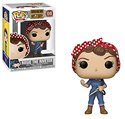 Funko Pop! Icons: History - Rosie The Riveter (Exclusive)
