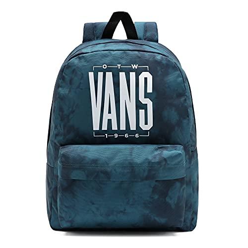 Vans Old Skool Iiii Backpack, Mochila Unisex Adulto, Azul Coral-Tie Dye, Talla única