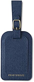 PRINTWORKS Travel Accessories - Elegant Class Faux Leather - Luggage Tag With Brass Lock (8.5 x 20 x2.5 cm)