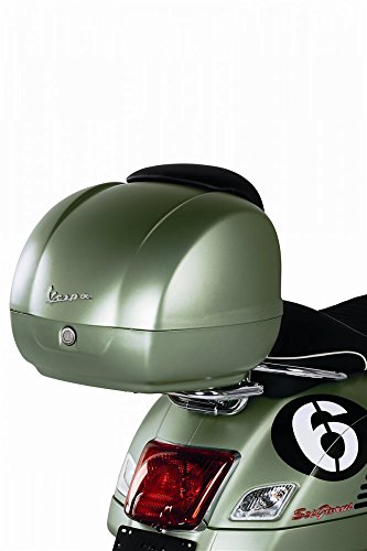 Original Topcase für Vespa GTS 6Days Sondermodell grün 344A