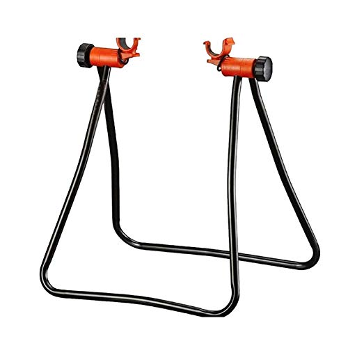 neversaynever Bike Repair Stand, Foldable Maintenance Rack Height Adjustble Extensible Bike Wheel Hub Display Stand Kickstand Holder Stay Bike Tools for Road & Mountain Bikes