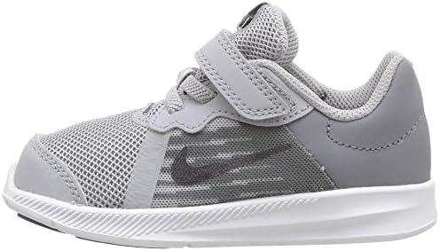 Nike Downshifter 8 (TDV), Zapatillas de Estar por casa Bebé Unisex, Gris (Wolf Grey/Mtlc Dark 002), 17 EU