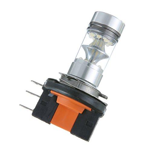 winomo Paire LED Ampoule H15 Circulation diurnes pour voiture antibrouillard 100 W