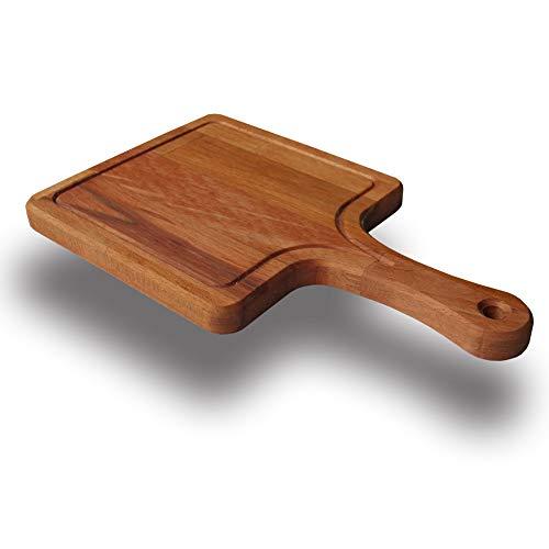 SZN Wood - Tabla de cortar (madera de haya, 19 x 32 x 1,8 cm)