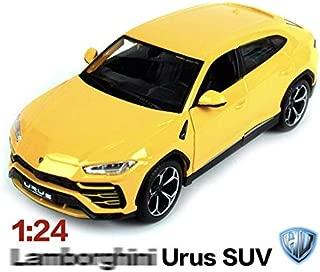 Maisto Diecast Car 1/24 Lamborghini Urus (Yellow)