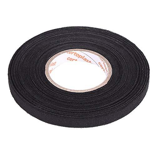 Kabelbaumband, Selbstklebendes Mehrzweckfilzband Anti Squeak Rattle Filz Isolierband für Auto Motorrad, schwarz- 9mm x 25mm