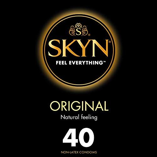 SKYN Original - Preservativos sin látex (40 unidades)