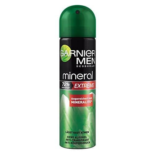 Garnier 72h minerale estremo Lot 3 deodoranti per gli uomini 3 x 150 ml