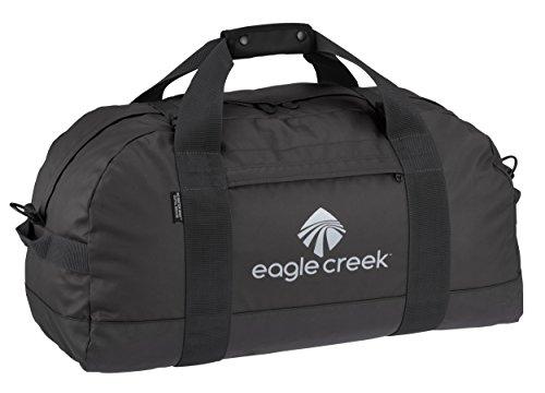 Eagle Creek Ultra Durable and Water-Resistant No Matter What Duffel M Packable Travel Bag, Black Sac de Voyage, 61 cm, 59 liters, Noir (Black)