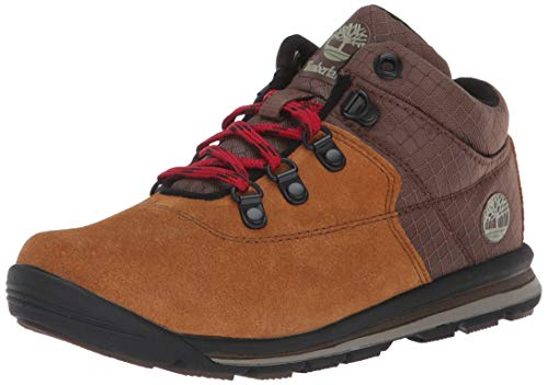 Timberland Baby GT Rally Mid Boot, Brown Suede, 4.5 Medium US Toddler