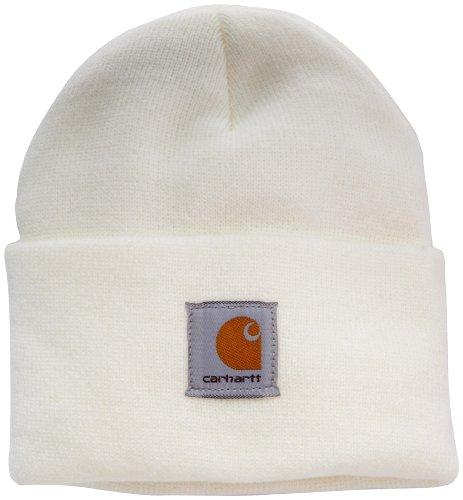 Carhartt Watch Hat Cappello a Cuffia, Winter White, Ofa Donna