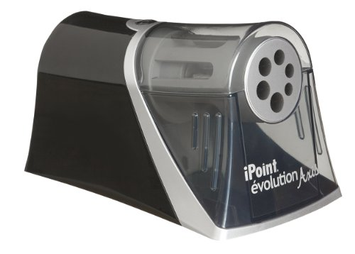 Acme Ip15509 Westcott Ipoint Evolution Axis Electric Pencil Sharpener-Black, Heavy Use
