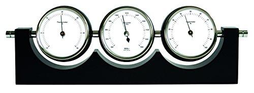 Eschenbach Optik Stand-Wetterstation, schwarz, 23 x 16 x 7,5 cm, 3,3 ml, 53990