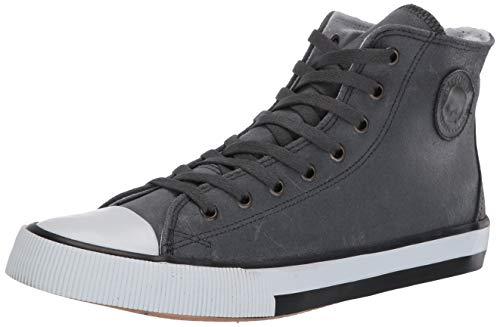 HARLEY-DAVIDSON FOOTWEAR womens Toric Sneaker, Grey, 9 US