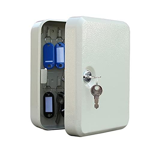 JKMINSA Caja fuerte para 24 llaves – almacenamiento de llaves para montaje en pared – para hogar/oficina/negocios