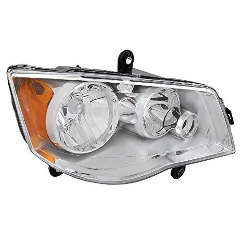 For 08-16 Chrysler Town & Country |11-19 Dodge Grand Caravan Headlight Headlamp Right [Passenger] Side