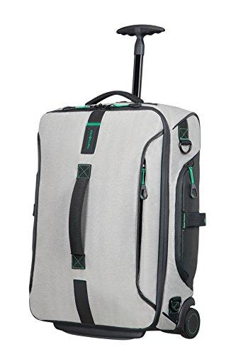 Samsonite Paradiver Light - Bolsa de Viaje con Ruedas, Gris (Jeans Gris), S (55cm-48.5L)