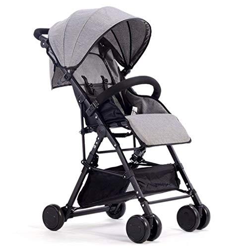 Best Review Of LMDC Baby Stroller Light High Landscape Shock Absorber Parent-Child Stroller Heighten...