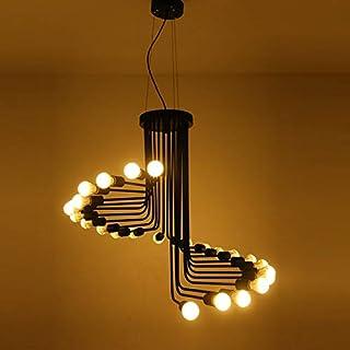 シャンデリア ロフト産業アメリカンスタイルのプーリーペンダントライトアジャスタブルワイヤーランプリトラクタブルバー照明エジソンの電球 YYFJP