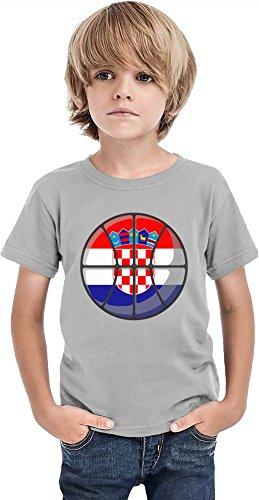 Croatia Basketball Boys T-shirt 12+ yrs