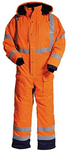 Tranemo 4419-44-93-L Winter Boiler pak CE-ME HV Maat L in oranje/marineblauw, L