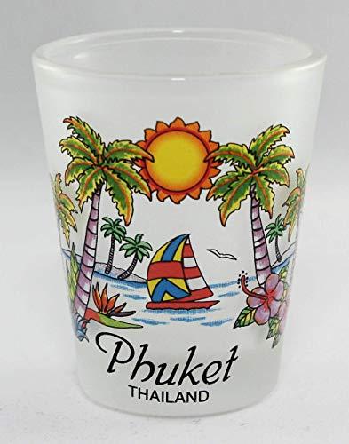 Phuket Thailand Beach Paradise Shot Glass