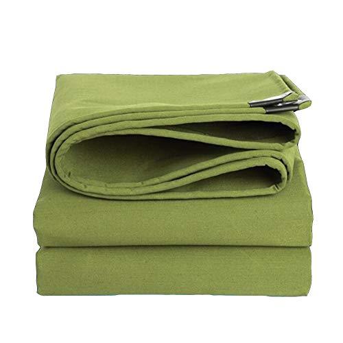 Dall bâche Bâche Protection Solaire Tissu De Pluie Résistant À l'usure Imperméable Toile (Couleur : Vert, Taille : 4×5m)