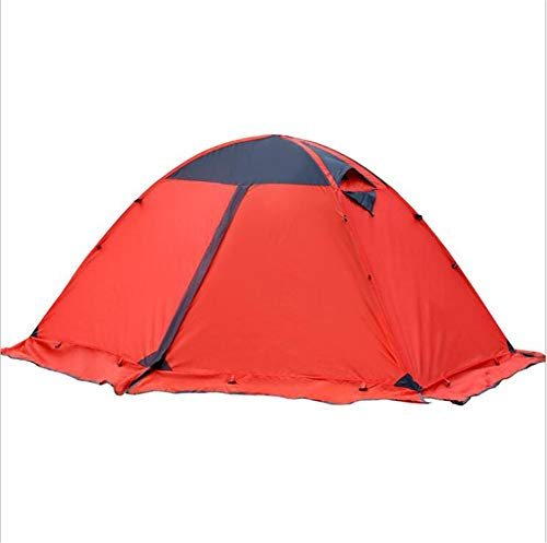 Double Stapelbed Outdoor Tent, Voor Het Kamperen, Camping, Rijden Wind En Regen Seizoenen Van Aluminium Paal Tent 210 * 140 * 115Cm
