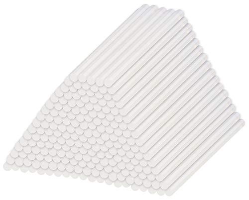 AGT Heißklebestangen: 4er-Set 50 Klebesticks für Klebepistolen, 11 x 200 mm, transparent (Heißklebesticks)