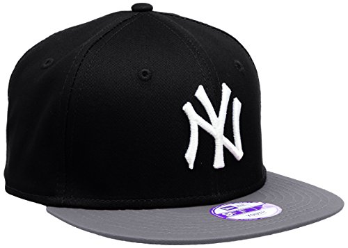 New Era Jungen, Kappe, K MLB COTTON BLOCK NY YANKEES 9FIFTY, Black/Grey/White, One Size, 10880043