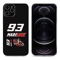 スマホケース マルク・マルケス Motogp 93 iphone12 ケース iphone12mini ケース iphone12pro ケース iphone12pro max ケース 兼用 互換性のある TPU 透明 柔軟 薄型 黄変防止 指紋防止 耐衝撃 滑り止め ワイヤレス充電対応