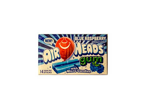 Airheads Blue Raspberry Candy – 14ct