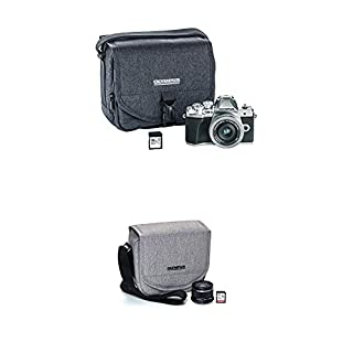Olympus OM-D E-M10 Mark III Camera Kit with 14-42mm EZ Lens (Silver), Camera Bag & Memory Card, Wi-Fi Enabled, 4K Video, US ONLY with Step Up Kit (B084CJSVL6) | Amazon price tracker / tracking, Amazon price history charts, Amazon price watches, Amazon price drop alerts