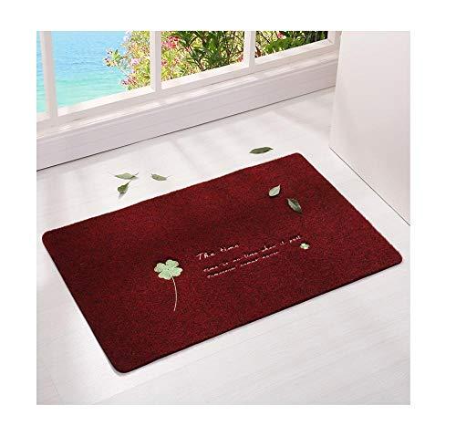 Qianqingkun Prachtige afwerking deurmat vloermat deurmat - absorberende deurmat mat slaapkamer tapijt