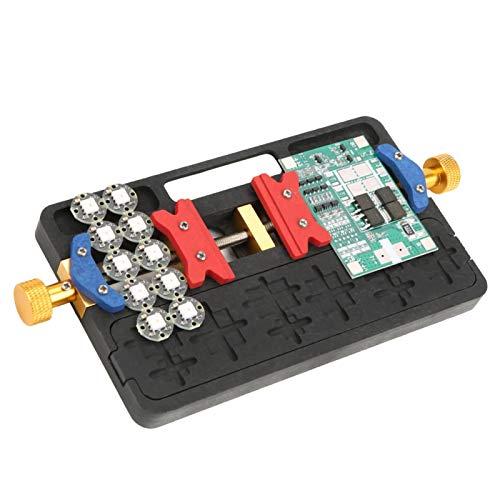 Herramienta de sujeción de PCB, soporte de PCB, eficiente y estable Durable de usar, fácil de limpiar, reparaciones de piezas pequeñas de laboratorio para trabajos de hobby en talleres