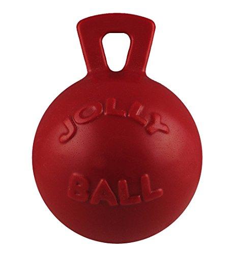 Jolly Pets JOLL045A Hundespielzeug - Tug-n-Toss, 15 cm, rot