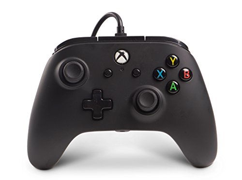 41Bnmj45hGL - PowerA Enhanced Wired Controller for Xbox One - Black