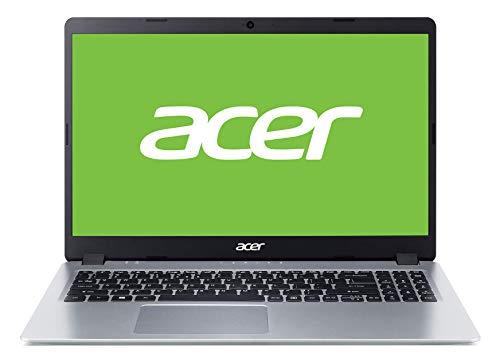 "Acer Aspire 5 - Ordenador portátil de 15.6"" FullHD (AMD Ryzen 5 3500U, 8GB RAM, 512GB SSD, UMA, Windows 10 Home) Plata, QWERTY Español"