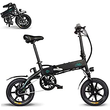 FIIDO Ebike, Bicicleta eléctrica Plegable Bicicleta de Velocidad ...