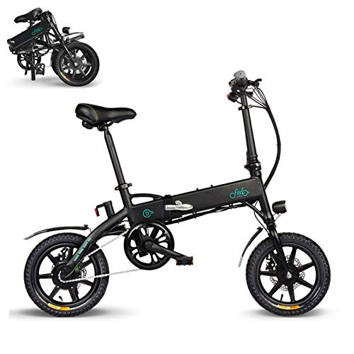 FIIDO Ebike, Bicicleta eléctrica Plegable Bicicleta de Velocidad Variable, Bicicleta de Ciudad Velocidad máxi (D1B)