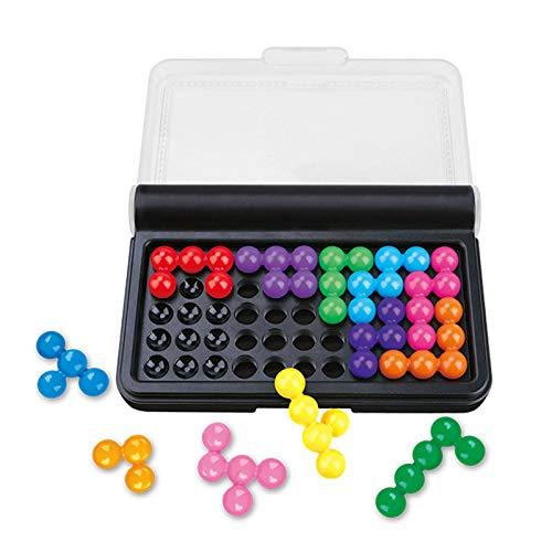 IQ Puzzler Pro IQ Games Puzzles Brain Twisting 3D Puzzle Juego para niños y adolescentes adultos 14 x 9,5 cm