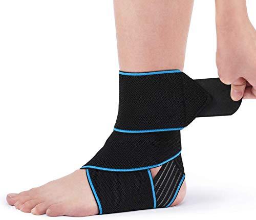AVIDDA Ankle Supports 2 Pack - Adjustable Ankle Brace Compression...