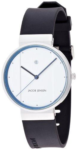 [ヤコブ・イェンセン] 腕時計 750 正規輸入品 ブラック