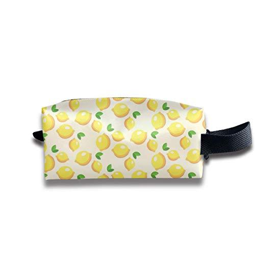 Lemon Pattern Receive Bag Handbag Travel Bag