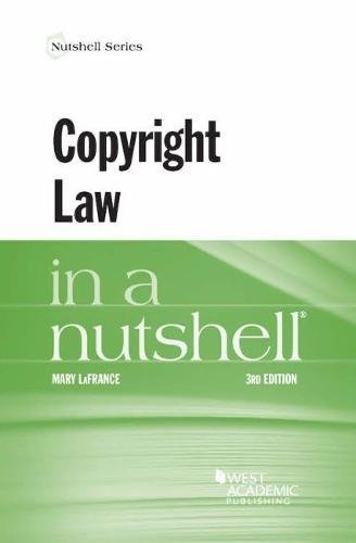 Copyright Law In A Nutshell (Nutshells)