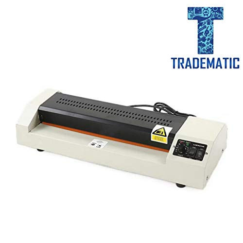 TRADEMATIC Enterprise Lamination Machine Fully Automatic Laminating Machine/Laminator for Upto A3 Size with Hot and Cold Lamination(Photos ID,I-Card,Certificate).