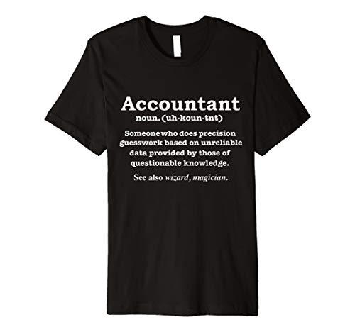 Funny Buchhalter Definition Bedeutung T-Shirt Buchhaltung