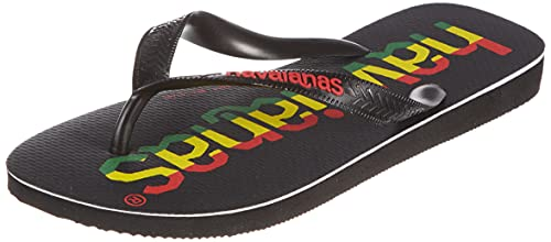Havaianas Flip-Flops, LOGOMANIA Schwarz/Rot