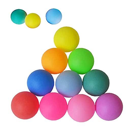 30 Piezas 40 mm Pelotas de Ping Pong, Pelotas de Ping Pong de Colores Mezclados, Pelotas de Ping Pong de Entrenamiento, Utilizadas para el Entrenamiento de Ping Pong (Color Aleatorio)